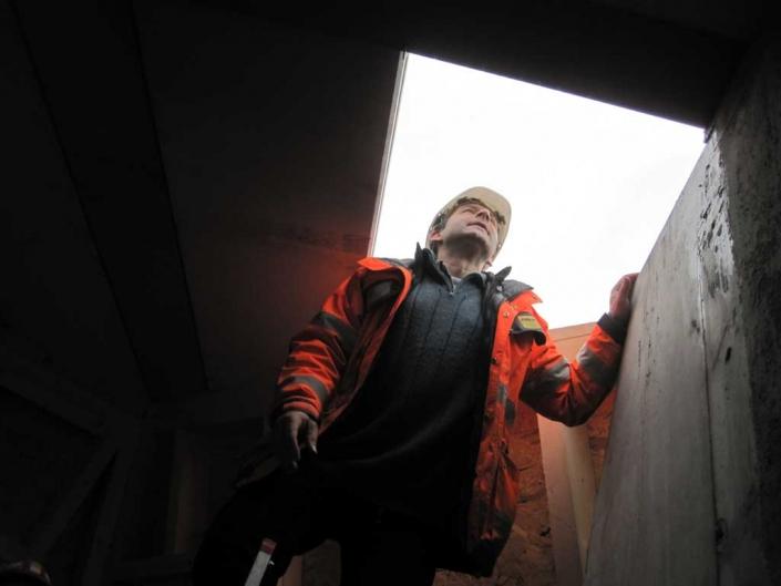 """Das Dach ist geschlossen - Neubau Hotel """"VielHarmonie"""" Jena"""