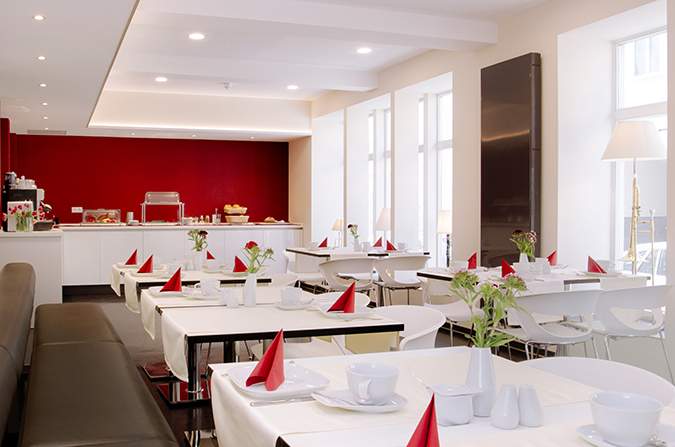 Hotel VielHarmonie Frühstücksraum