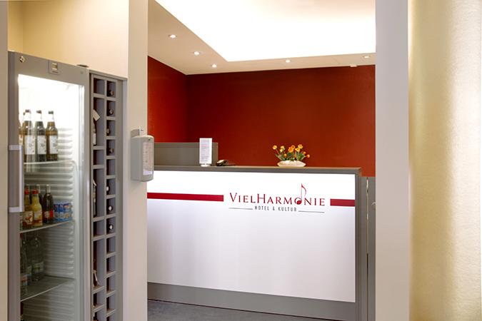 Rezeption Hotel VielHarmonie