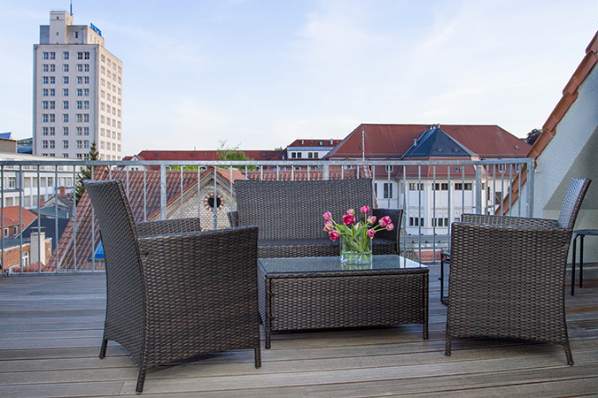 Holiday apartment - terrace